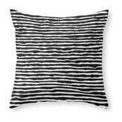 """Horizons Throw Pillow Cover, 16""""x16"""" With Pillow Insert"""