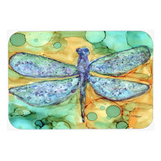 Abstract Dragonfly Glass Cutting Board Large 8967LCB