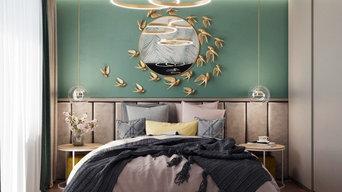 Дизайн интерьера спальни для квартиры по ул.Димитрова