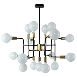 Midcentury Chandeliers by ShopFreely
