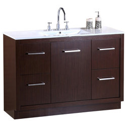 Transitional Bathroom Vanities And Sink Consoles by Luxury Bath Collection
