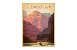 Art & Soul of America: Grand Canyon National Park Gallery Print