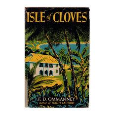 Decorative Book, Isle of Cloves, A View of Zanzibar