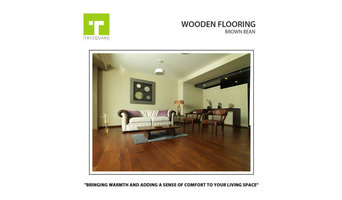 Brown Bean| Wooden Flooring - Make your Home Stylish with TrySquare