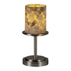 Justice Design Group ALR-8798 Table Lamp Alabaster Rocks! Collection