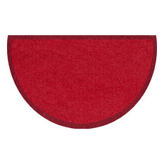 Curved Clean Keeper Doormat, Red