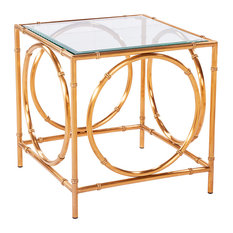Lana Side Table Antique Gold
