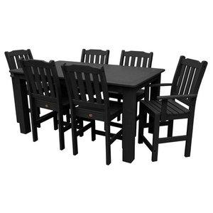 8478e95776f6e Liberty Furniture Whitney 7-Piece Trestle Dining Set