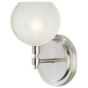 Dainolite Lighting 85306W-80607-115 1 Light Crystal Sconce