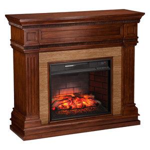 Bernard Electric Fireplace Traditional Indoor