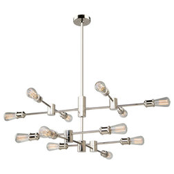 Midcentury Chandeliers by ARTCRAFT Lighting