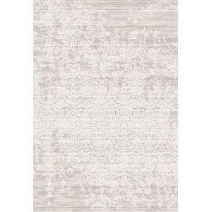 Something Ecru Casa Distressed Patterned Floor Rug, 140x200 cm