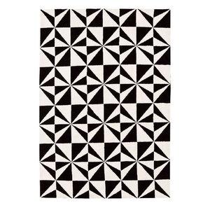 Arlo Mosaic Mono Rectangular Rug, 120x170 cm