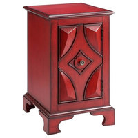 Accent Cabinet, Robust Red Finish