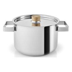 Eva Solo Nordic Kitchen Pot, Stainless Steel, 4.0L