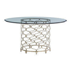 Bollinger Dining Table With 60, Inch Glass Top