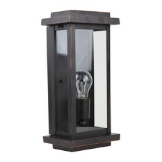 One Light Exterior Small Size, Oil Rubbed Bronze