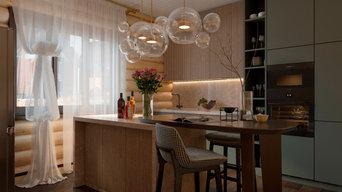 кухни - гостиные