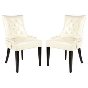 Safavieh Elise Dining Chairs, Set of 2, Cream