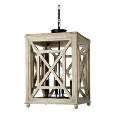 Wood Lattice Lantern