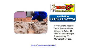 Quality Solutions for Plumbing and Water Heater in Tulsa