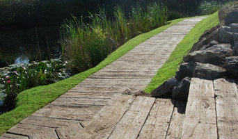 """Boardwalk"" mit MB-Lastane® Terrassendielen"