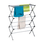 Honey Can Do Deluxe Oversize Metal Drying Rack, Silver
