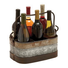 Ronson Metal Wine Basket
