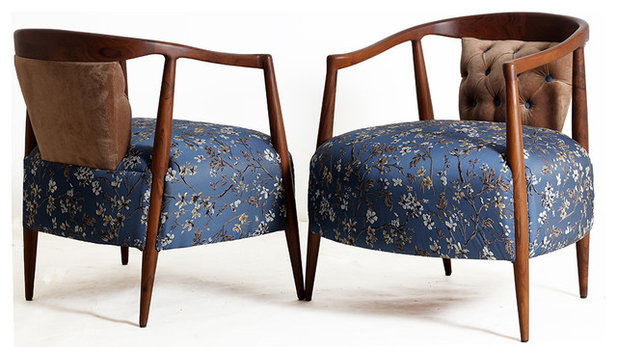Contemporary Armchairs & Accent Chairs by ALANKARAM