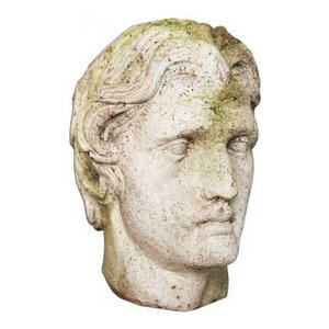 Alexander The Great Head 12, Greek and Roman Classical Sculpture