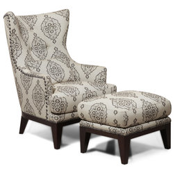 Transitional Armchairs And Accent Chairs by Simon Li Furniture