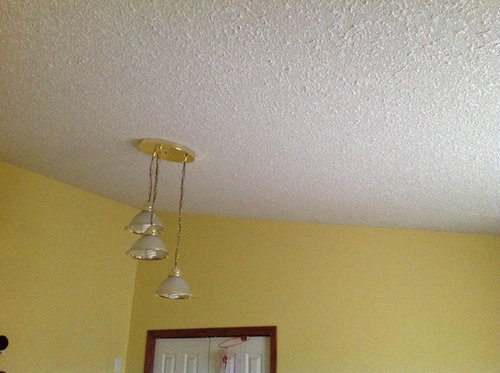 Lighting And Fan On Vaulted Ceiling