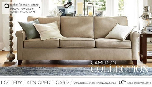 Pottery Barn Cameron Sofa Or Sectional Reviews