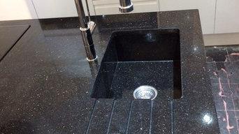 Granite sink and worktop