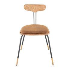 Ebony Fumed Dining Chair