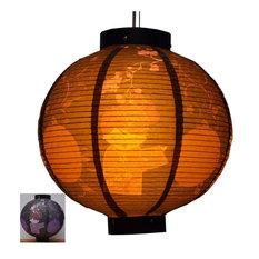 Durable Paper Lantern Japanese Style Restaurant Hanging Decor T