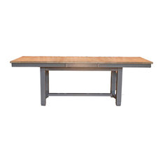 A-America Port Townsend Trestle Table With Leaf