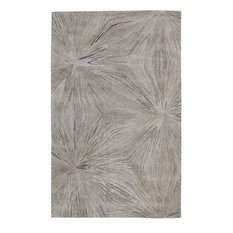 Dynamic Rugs Inc. - Posh Area Rug, Rectangle, Silver, 5'x8' - Area Rugs