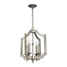 Craftmade 37334-AN Lisbon 4 Light Foyer In Antique Nickel