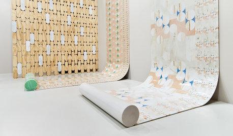 Focus Matière : Le papier peint intissé révolutionne les murs