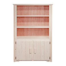 63 in. Bookcase with Storage