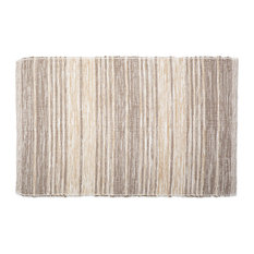 DII Variegated Stone Recycled Yarn Rug