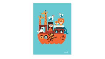 Wanddeko Kinderzimmer: Fröhliche Poster und Prints
