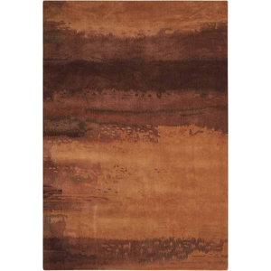 Calvin Klein Luster Wash Rug, Copper, 91x152 cm