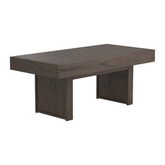 Unique Rustic Coffee Table With Hidden Storage Wheat Brown Finish