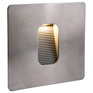 Square Stainless Steel LED Wall/Step Light