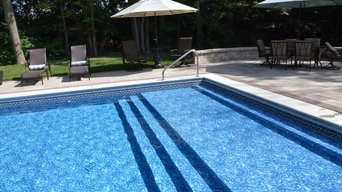Sun Shelf - Vinyl-Lined Swimming Pool