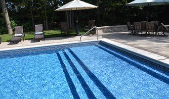 Sun Shelf - Vinyl-Lined Swimming Pool