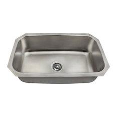 Kitchen sinks made in the usa houzz polaris sinks usa made 18 gauge 3038 stainless steel undermount kitchen sink set workwithnaturefo