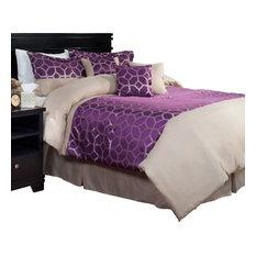 Aria 7 Piece Comforter Set, King